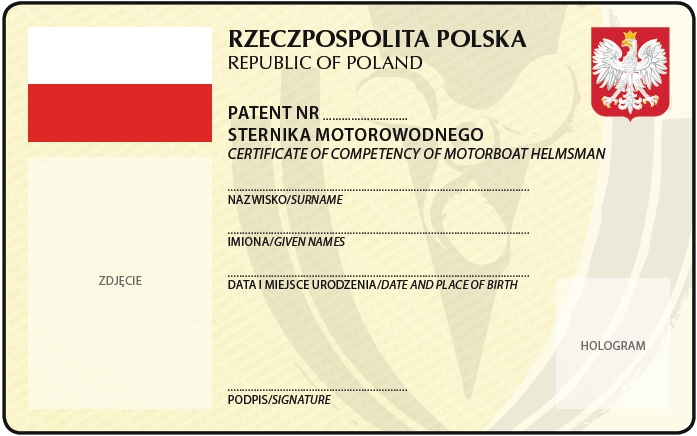 Patent motorowodny